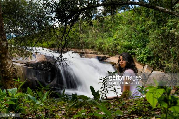 coura's waterfall - claudio capucho stock photos and pictures