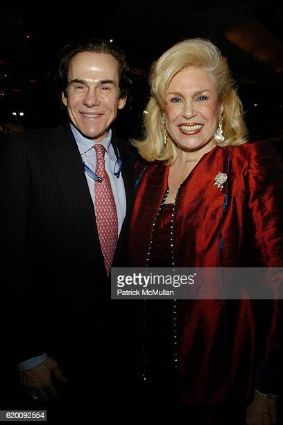 R Couri Hay and Harriet Rose Katz attend 10th Annual CCap Benefit Honoring Chef Alfred Portale at Pier Sixty at Chelsea Piers on February 27 2008 in...
