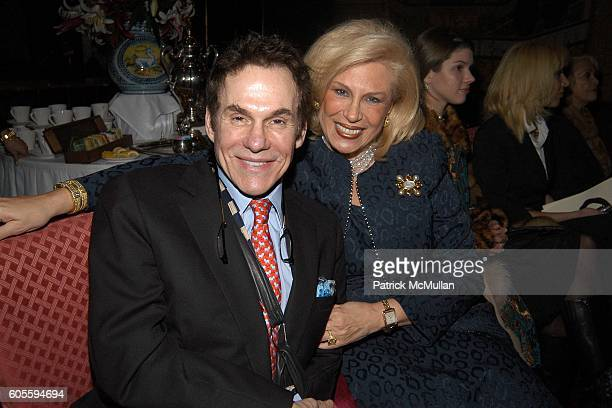R Couri Hay and Harriette Rose Katz attend Secrets of Charm Fall 2006 Collection at Doubles on February 2 2006 in New York City