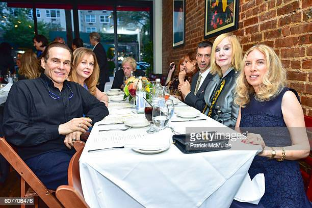 R Couri Hay Guest Maggie Norris and Lauren Lawrence attend Last Chance For Animals New York Fundraiser at Rosina on September 18 2016 in New York City