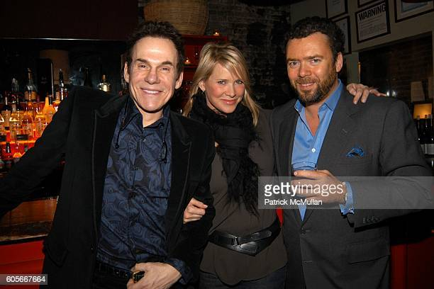 Couri Hay, Patricia Duff and Arthur Altschul Jr at DOUGLAS HANNANT After Show Dinner Hosted by Valesca Guerrand-Hermes at PM Niteclub on February 10,...