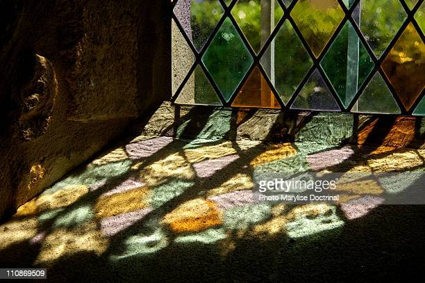 cournols - stained glass stock photos and pictures