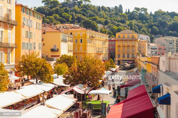 Cours Saleya in Nice, France