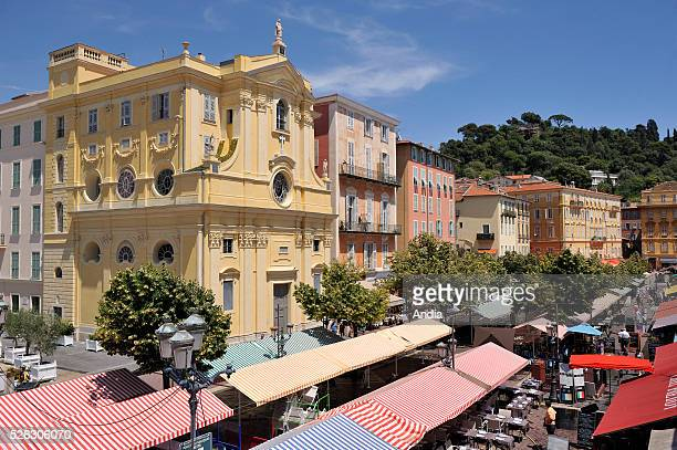 Cours Saleya in the Old Town of Nice