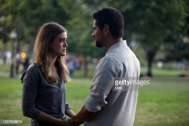 MANIFEST Course Deviation Episode 210 Pictured Melissa Roxburgh as Michaela Stone JR Ramirez as Jared Vasquez