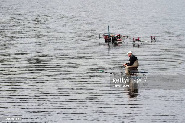 Course fishing on a Scottish loch
