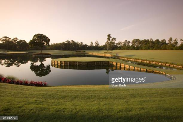 Course scenic at the 17th hole at the TPC Sawgrass in Ponte Vedra Beach, FL on June 18, 2007. Photo by Stan Badz/PGA TOUR Photos