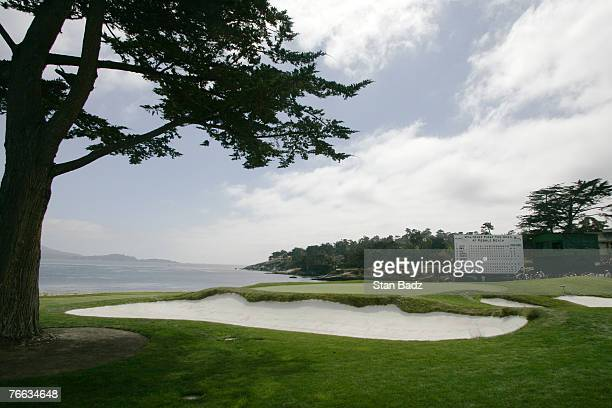 Course scenic during the third and final round of the WalMart First Tee Open at Pebble Beach held at Pebble Beach Golf Links in Pebble Beach...