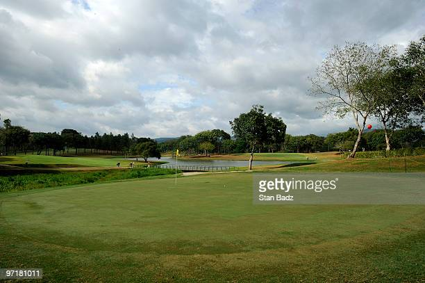 Course scenic of the 11th green during the final round of the Panama Claro Championship at Club de Golf de Panama on February 28, 2010 in Panama...