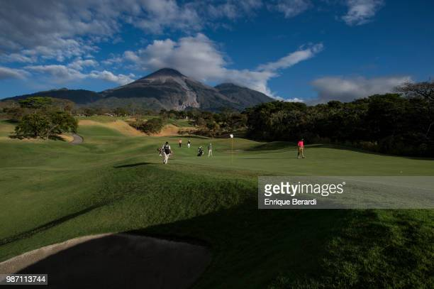 A course scenic of the 11th hole during the first round of the PGA TOUR Latinoamérica Guatemala Stella Artois Open at La Reunion Golf Resort Fuego...