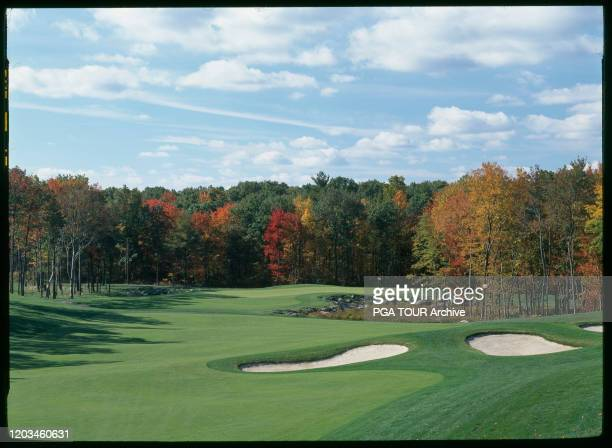 Course Scenic of the 12th Hole TPC Boston, Norton MA Photo by Dick Durrance II/PGA TOUR Archive via Getty Images