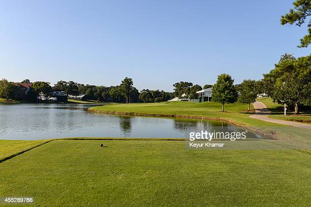 A course scenic of the 17th hole tee box at East Lake Golf Club on August 27 2014 in Atlanta Georgia East Lake is the venue of the TOUR Championship...