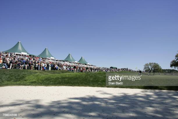 Course scenic of the 9th hole during the third round of THE PLAYERS Championship on the Stadium Course at TPC Sawgrass in Ponte Vedra Beach, Florida,...
