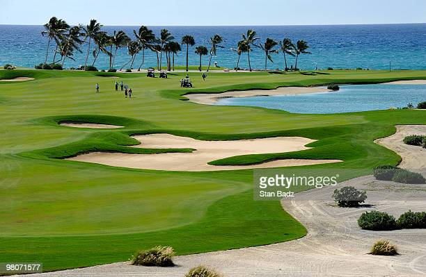 Course scenic of the second fairway during the first round of The Cap Cana Championship on March 26, 2010 on the Jack Nicklaus Course at Punta Espada...