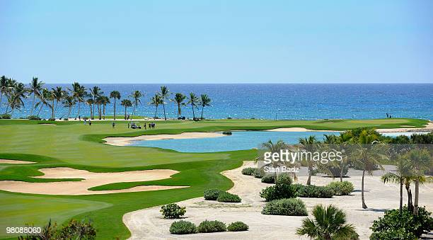 Course scenic of the second fairway during the second round of The Cap Cana Championship on March 27, 2010 on the Jack Nicklaus Course at Punta...