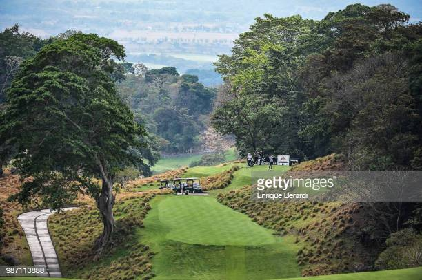 A course scenic of the second hole during the first round of the PGA TOUR Latinoamérica Guatemala Stella Artois Open at La Reunion Golf Resort Fuego...