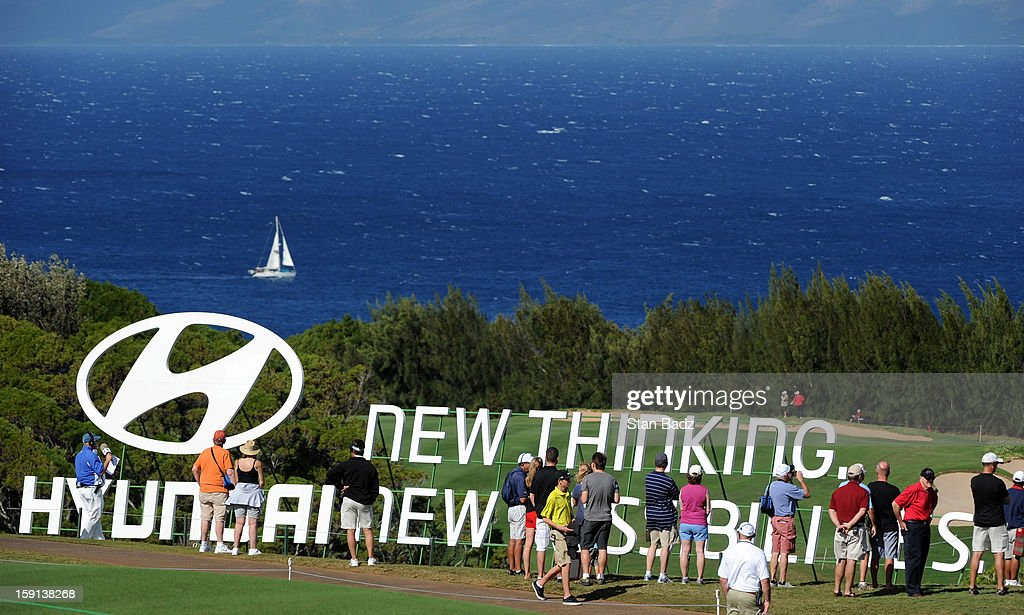 A course scenic shot on the 13th hole during the final round of the Hyundai Tournament of Champions at Plantation Course at Kapalua on January 8, 2013 in Kapalua, Maui, Hawaii.