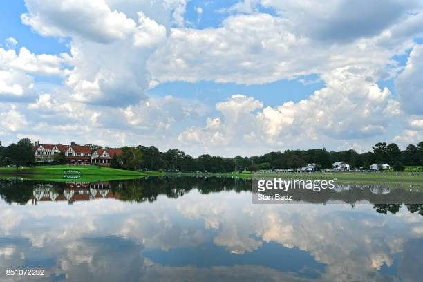 A course scenic view of East Lake during the first round of the TOUR Championship the final event of the FedExCup Playoffs at East Lake Golf Club on...