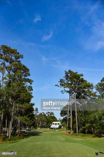 Course scenic view of the eighth hole tee box during the second round of THE PLAYERS Championship on the Stadium Course at TPC Sawgrass on May 12,...