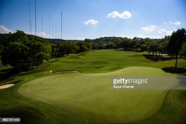 A course scenic view of the fifth hole green during round three of the World Golf Championships Dell Technologies Match Play at Austin Country Club...