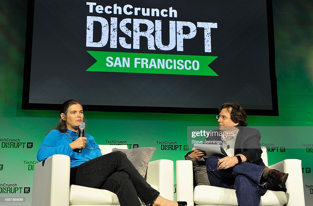 Coursera Co-Founder Daphne Koller and TechCrunch Moderator