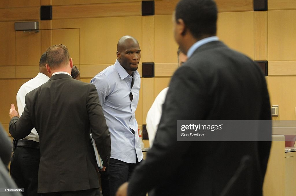 Ex-Dolphin Chad Johnson sent to jail for 30 days : News Photo