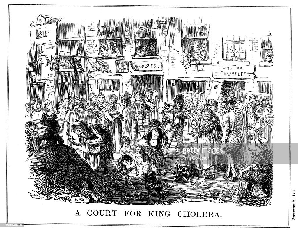 'A Court for King Cholera', 1852. : News Photo
