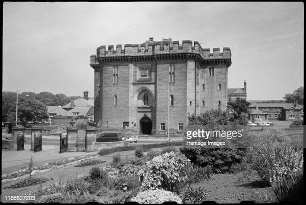 Court House Castle Bank Morpeth Northumberland circa 1955c1980 An exterior view of the front elevation of the Court House a former courthouse and...