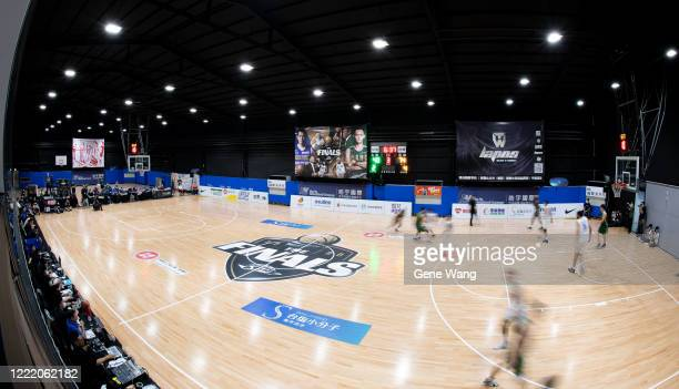 Court view of SBL final game 7 during the SBL Finals Game Six between Taiwan Beer and Yulon Luxgen Dinos at Hao Yu Trainning Center on April 30, 2020...