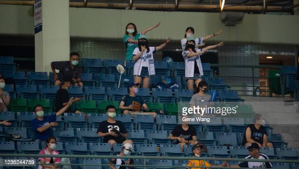 Court view of the CPBL game between Fubon Guardians and CTBC Brothers at the Xinzhuang Baseball Stadium on May 30 2020 in New Taipei City Taiwan