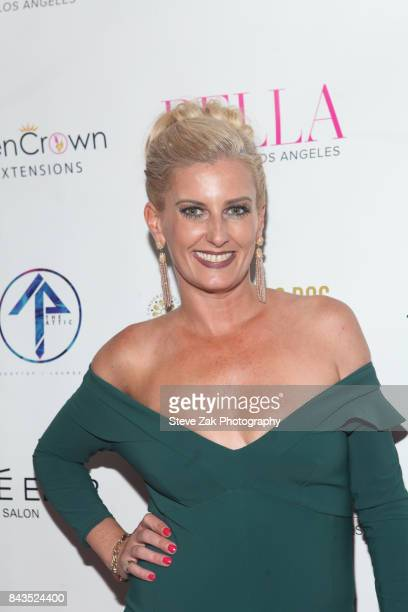 Courtenay Hall attends Bella Magazine NYFW Kickoff Party at The Attic Rooftop Lounge on September 6 2017 in New York City