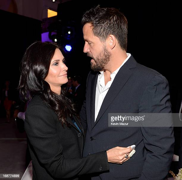 Courteney Cox and Josh Hopkins attend the 2013 TNT/TBS Upfront at Hammerstein Ballroom on May 15 2013 in New York City 23562_002_0389JPG