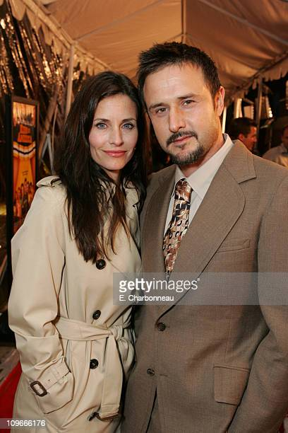 """Courteney Cox Arquette and David Arquette during """"Kids in America"""" Los Angeles Premiere at Egyptian Theater / Highlands in Hollywood, California,..."""