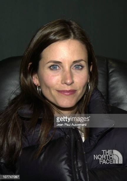 Courteney Cox Arquette during 1st Annual Celebrity Dodgeball Game to Benefit The Elizabeth Glaser Pediatric Aids Foundation at Toluca Lake Tennis...