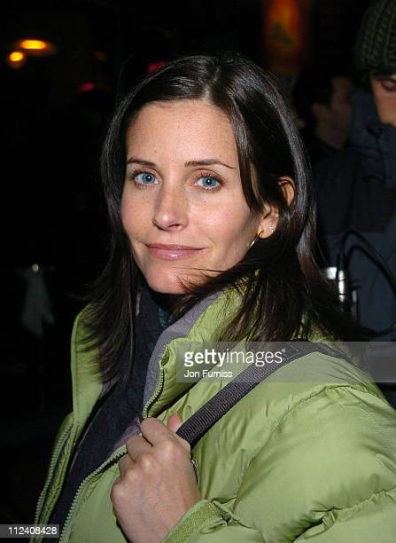 Courteney Cox Arquette during 2004 Park City Cinetec/Diesel Party at Easy Street in Park City Utah United States