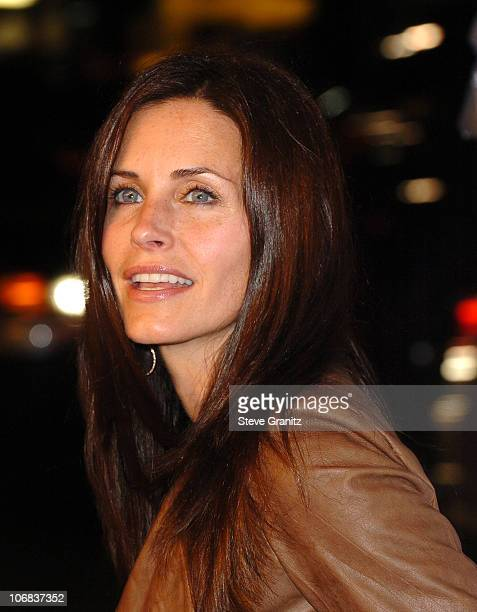 Courteney Cox Arquette during 9th Annual Hollywood Film Festival Opening Night Screening of 'Kiss Kiss Bang Bang' Arrivals at Grauman's Chinese...