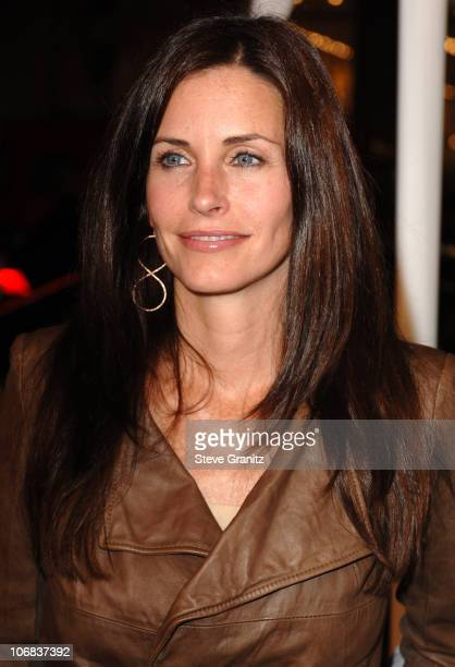 Courteney Cox Arquette during 9th Annual Hollywood Film Festival Opening Night Screening of Kiss Kiss Bang Bang Arrivals at Grauman's Chinese Theatre...