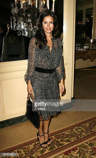 Courteney Cox Arquette during AFI Honors Hollywood's Arquette Family With The Sixth Annual 'Platinum Circle Awards' Green Room and Show in Los...