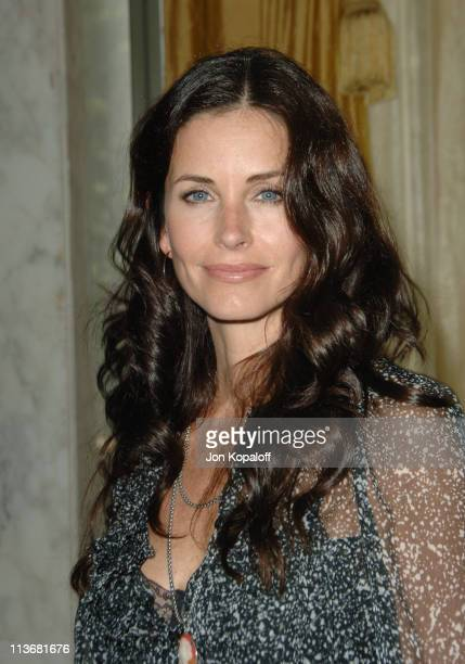 Courteney Cox Arquette during AFI Honors Hollywood's Arquette Family With The Sixth Annual 'Platinum Circle Award' Arrivals in Los Angeles California...