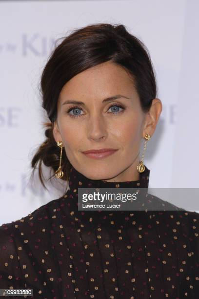 Courteney Cox Arquette during Courteney Cox Launches Kinerase Products at Bryant Park in New York City New York United States