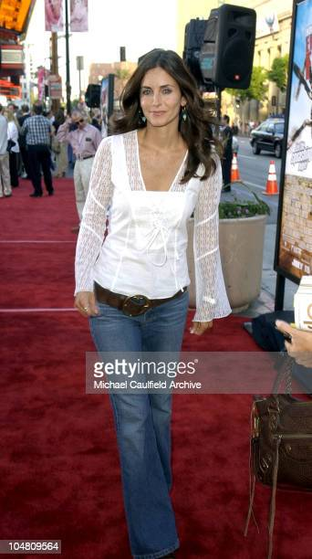 Courteney Cox Arquette during Eight Legged Freaks World Premiere at Mann's Chinese Theater in Hollywood California United States