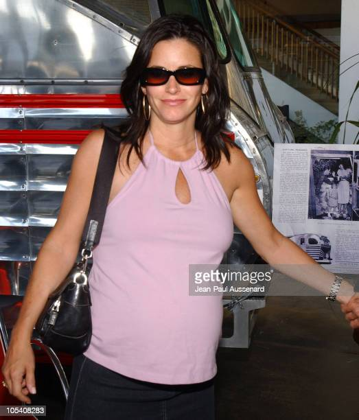 Courteney Cox Arquette during LA Modernism Show Opening Night Gala Preview Party at Civic Auditorium in Santa Monica California United States
