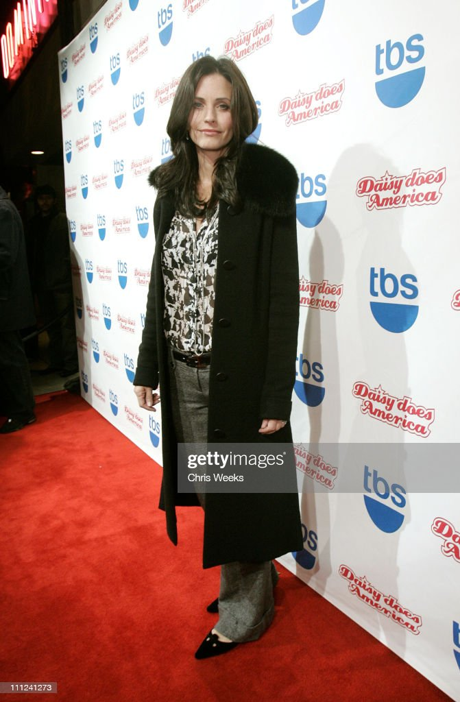 Courteney Cox Arquette during Party Celebrating the Premiere of the New TBS Comedy Series 'Daisy Does America' - Red Carpet & Inside at Guy's in West Hollywood, California, United States.