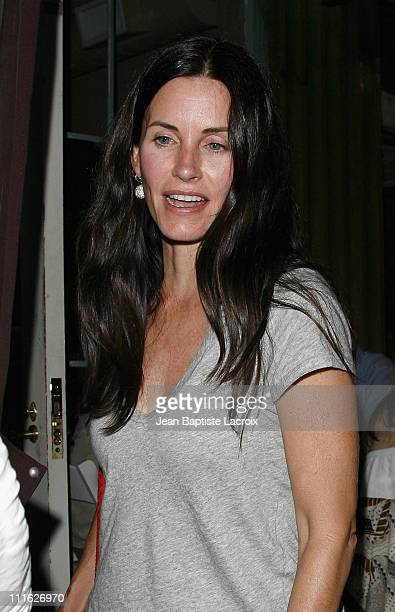 Courteney Cox Arquette sighting on June 30 2008 in West Hollywood California