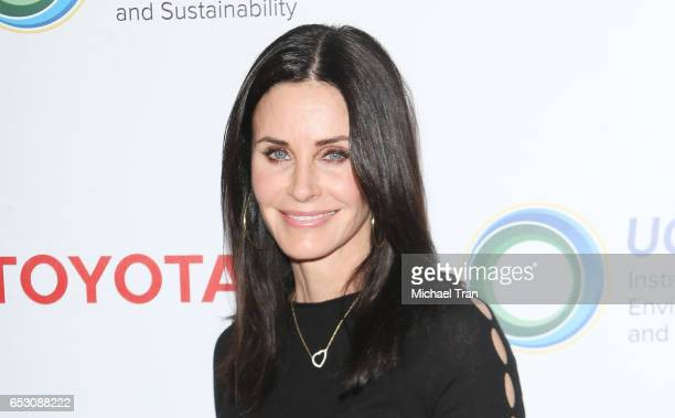 Courteney Cox arrives at the UCLA Institute of The Environment and Sustainability celebrates innovators for a healthy planet held at a private...