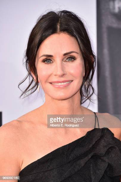 Courteney Cox attends American Film Institute's 46th Life Achievement Award Gala Tribute to George Clooney at Dolby Theatre on June 7 2018 in...