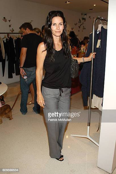 Courteney Cox attends Stella McCartney and Tasty baby Afternoon of Fun Fashion and Food at Stella McCartney on September 15 2007 in Beverly Hills CA