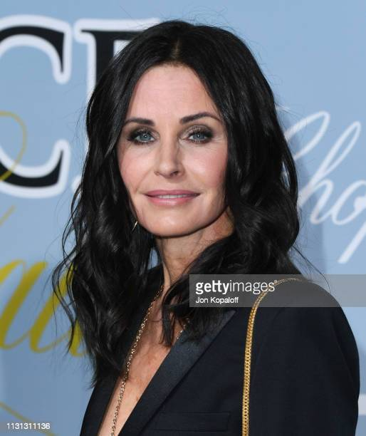 Courteney Cox attends the 2019 Hollywood For Science Gala at Private Residence on February 21 2019 in Los Angeles California