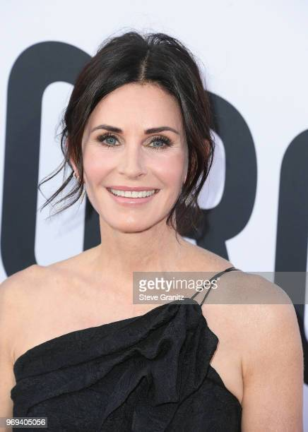 Courteney Cox attends the American Film Institute's 46th Life Achievement Award Gala Tribute to George Clooney at Dolby Theatre on June 7 2018 in...