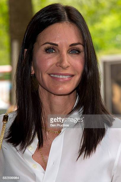 Courteney Cox attends the Ivor Novello Awards at Grosvenor House on May 19 2016 in London England